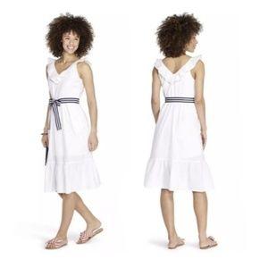 Vineyard Vines Dresses - Vineyard Vines Ruffle Tie Waist Midi Dress -Target
